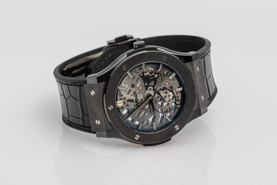 Hublot Classic Fusion Ultra-Thin Skeleton Ceramic