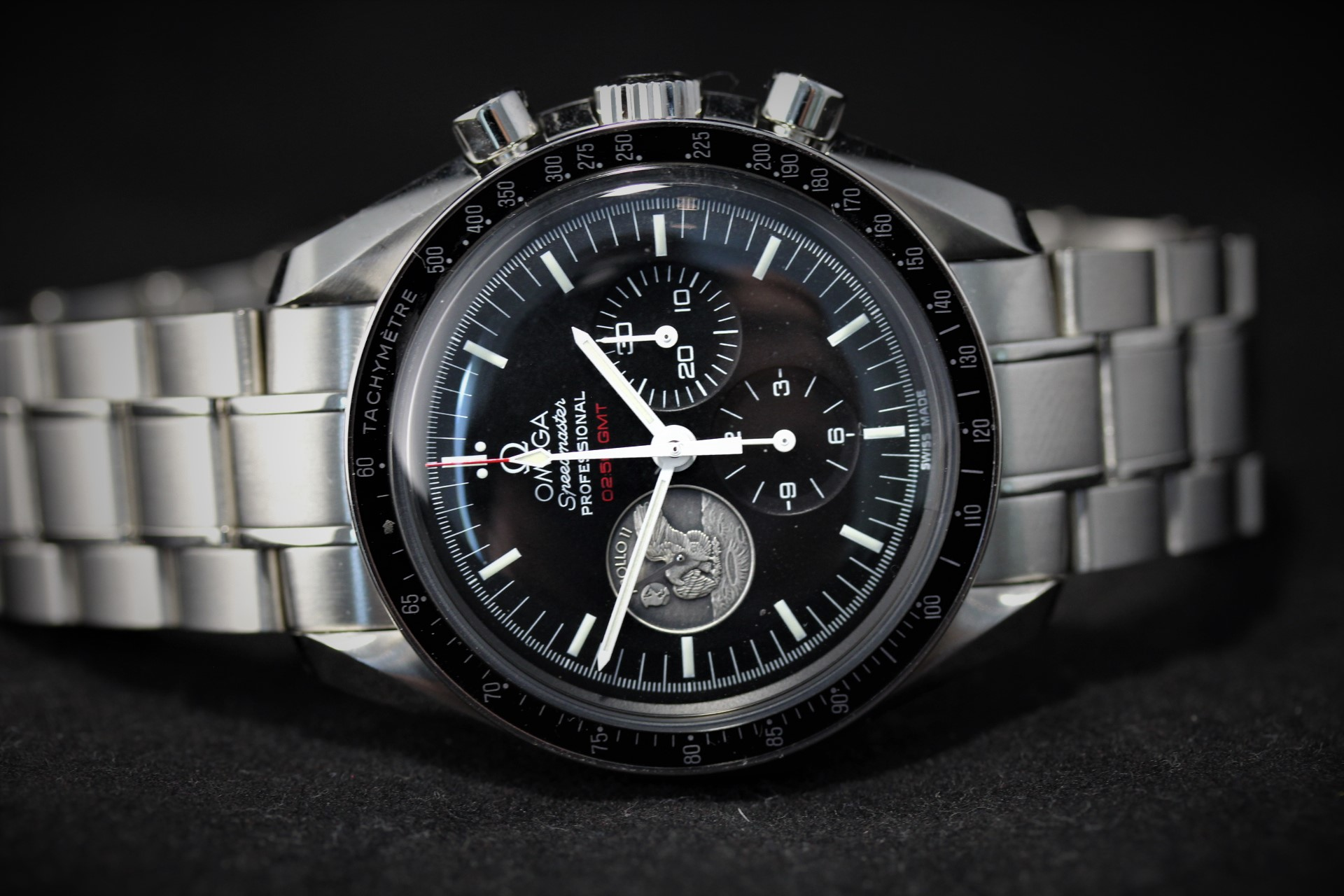 Omega Speedmaster Professional Moonwatch Apollo XI 40th anniversary LE